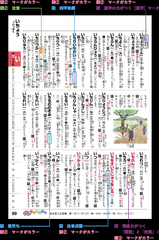 学研 新レインボー 小学国語辞典[改定第6版] オールカラー!